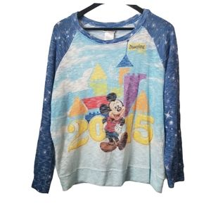 Disney parks lightweight pullover mickey sweater